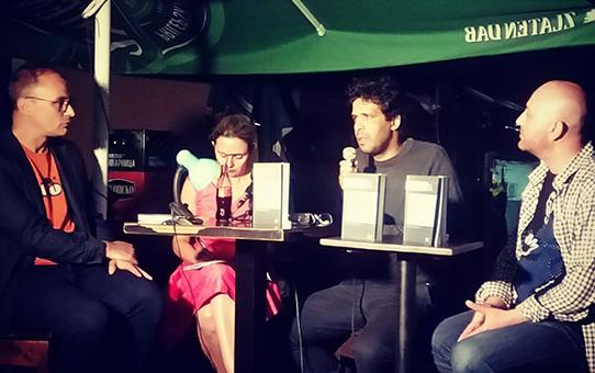 """Промоција на романот """"Првобитните нешта"""" од Бруно Виејра Амарал"""