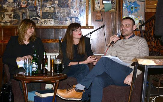 Промоција на романот Одбројување во Скопје