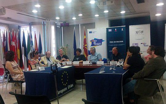 Тркалезна маса на Проза Балкан 2018