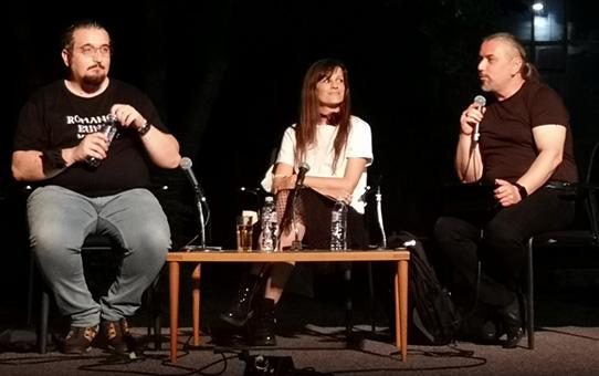 """Промоција на романот """"На враќање"""" од Фросина Пармаковска"""